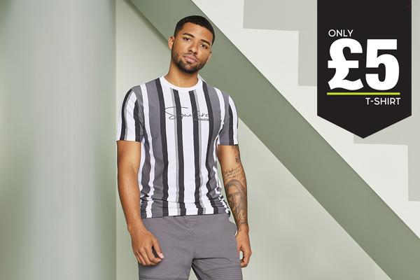 Men's T-Shirt Only £5