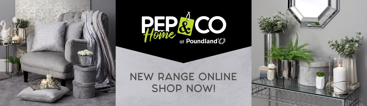 New PEP&CO Home Range Online Now!
