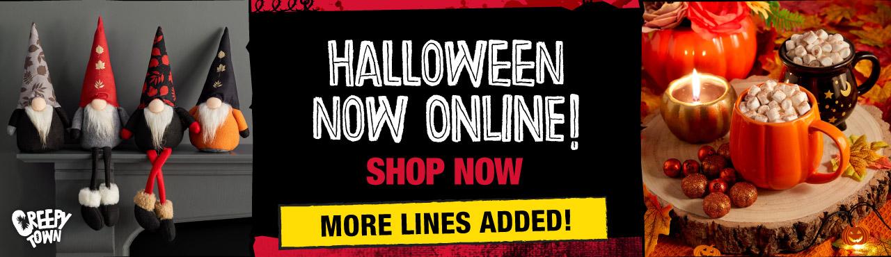 Halloween Online Now