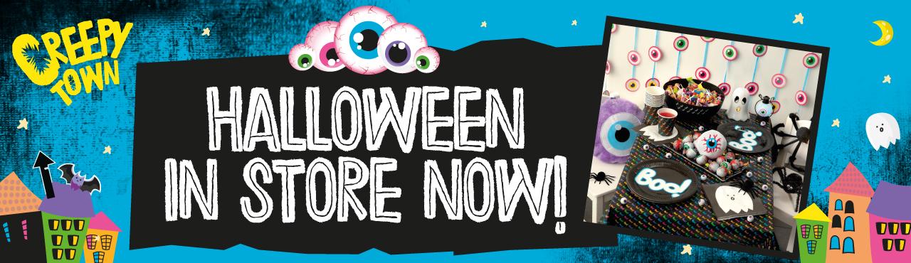Halloween In Stores Now!