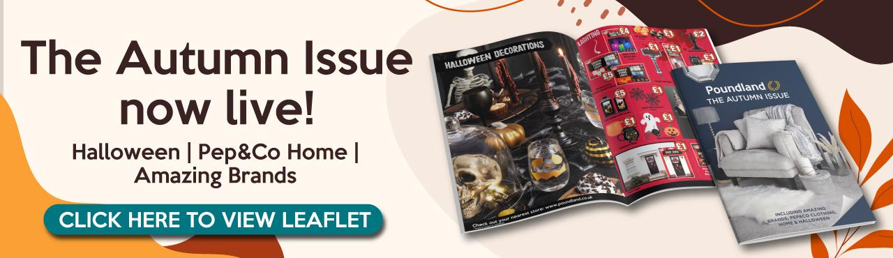 Poundland Leaflet October 2021