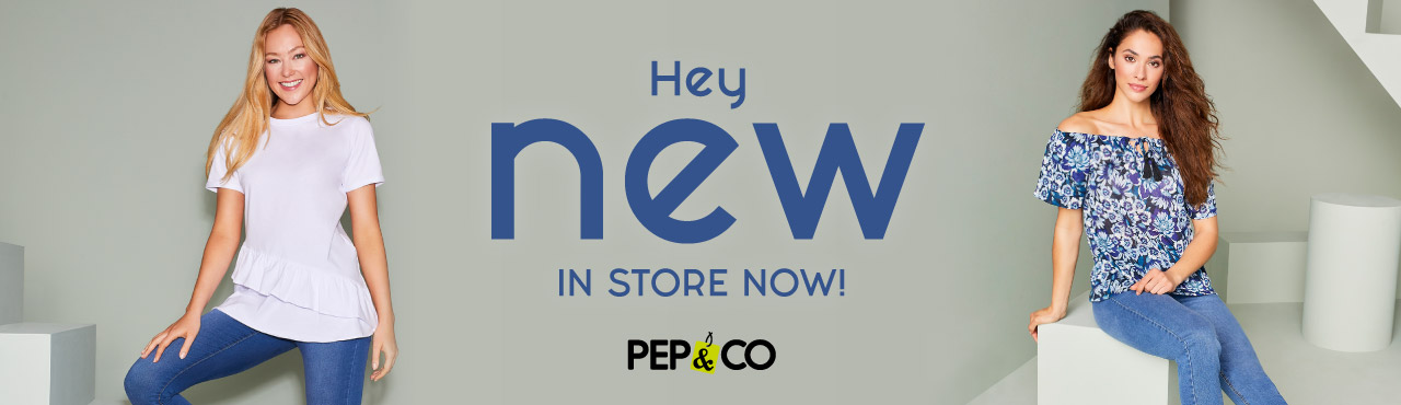 PEP&CO Clothing in store now