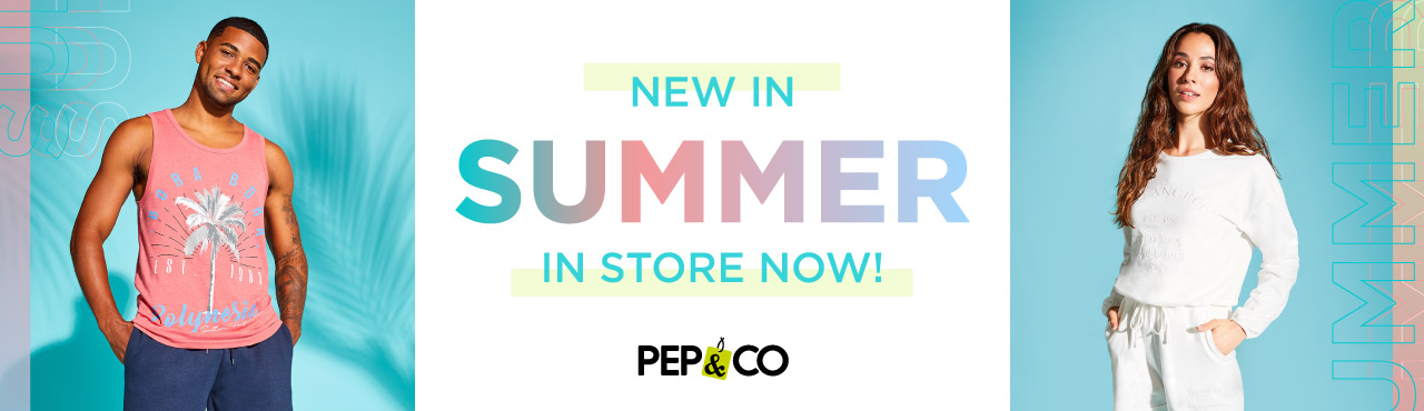 PEP&CO SS in store now