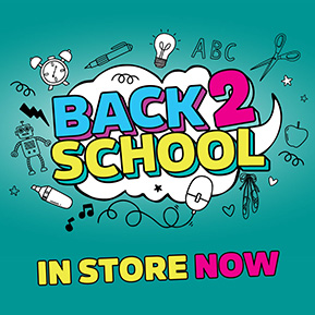 Back to School stationery in stores now