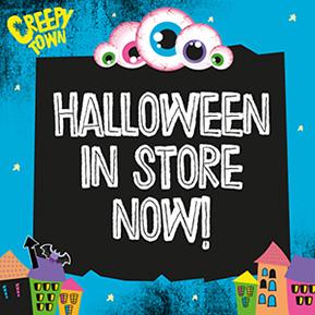 Halloween Now In Store