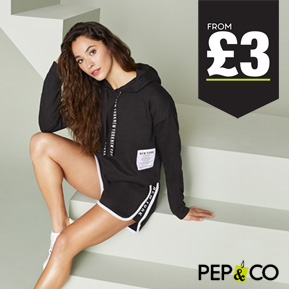 PEP&CO Clothing in stores now