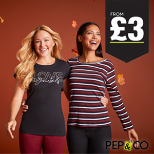 PEP&CO Clothing in-store now